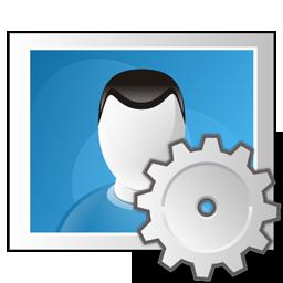 image, photo, settings icon