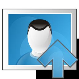 arrow, image, photo, up icon