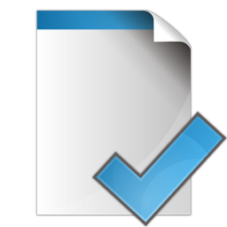 check, document, ok, yes icon