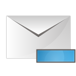 envelope, minus icon