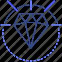 diamond, crystal, jewelry, gemstone