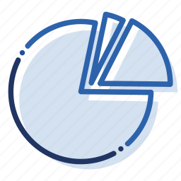 analytics, business, chart, graph, piechart, section icon
