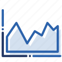 analytics, business, chart, economics, graph, report icon