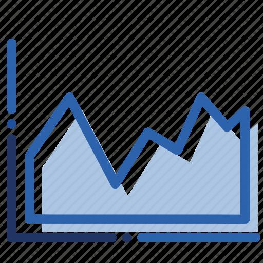analytics, business, chart, economics, graph, report icon