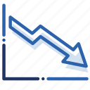 analytics, chart, economics, graph, measurement icon