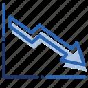 analytics, chart, economics, graph, measurement icon