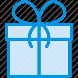 box, christmas, gift, give, present, winter, xmas icon