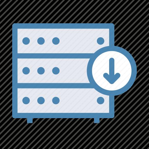 database, down, download, information, server, storage, upload icon