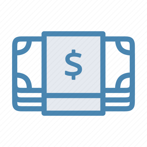 bills, cash, dollar, finance, money icon