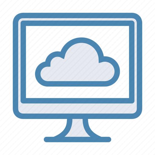 cloud, database, device, icloud, imac, repository, storage icon