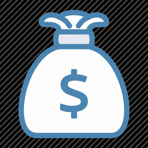 bag, bank, dollar, dollars, financial, money icon