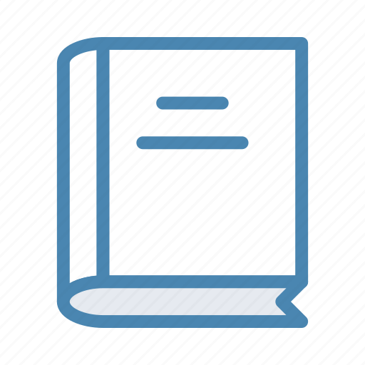 book, books, directory, library icon
