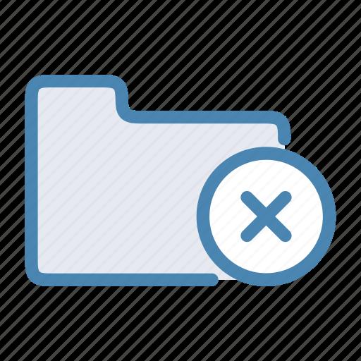 close, cross, delete, folder icon