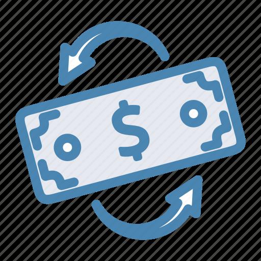 convert, finance, money transaction, money transfer, transaction, transfer icon