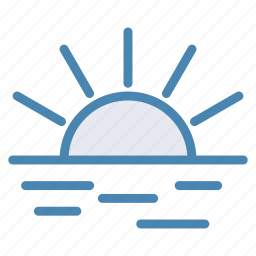 morning, summer, sun, sunrise, sunset icon