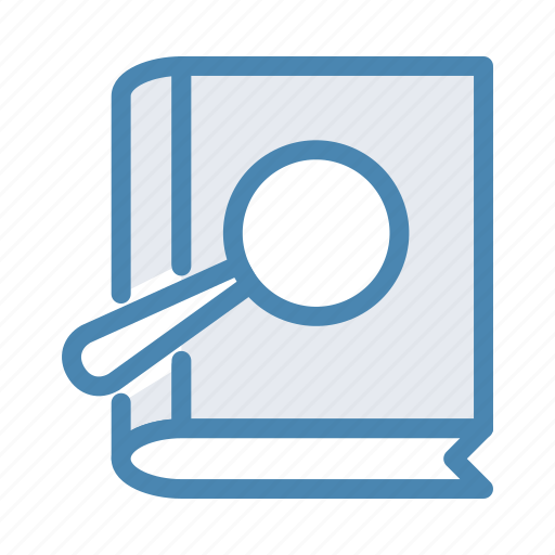 book, find, history, library, read, reading, search icon