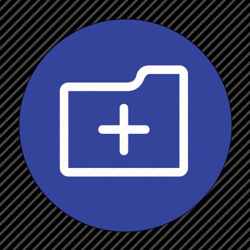 add, folder, health, new, new folder, plus icon