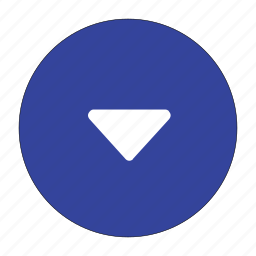 arrow, bottom, direction, down, move, navigation, page down icon