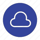 cloud, database, rain, storage icon