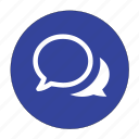 chat, comments, communication, message, speech, talk icon