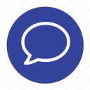chat, comment, communication, message, new comment, talk icon