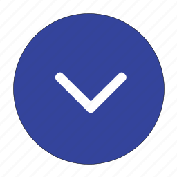 arrow, bottom, direction, down, download, go, navigation icon