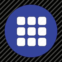 blocks, box, item, menu icon