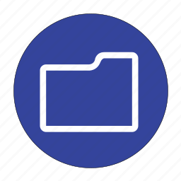 dir, directory, file, folder icon