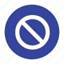 cancel, caution, danger, delete, not, remove, warning icon