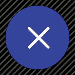 cancel, close, delete, exit, minus, remove, stop icon