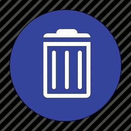bin, delete, dust, garbage, recycle, remove, trash icon