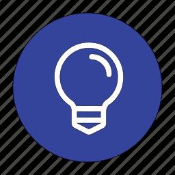 bulb, electric, energy, idea, ideas, lamp, light icon