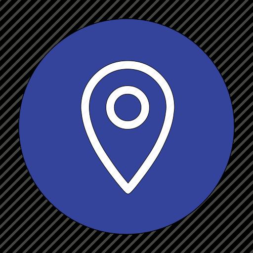gps, location, map, navigation, popular icon