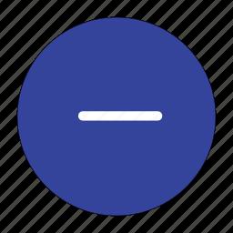 cancel, close, delete, exit, minus, popular, remove icon