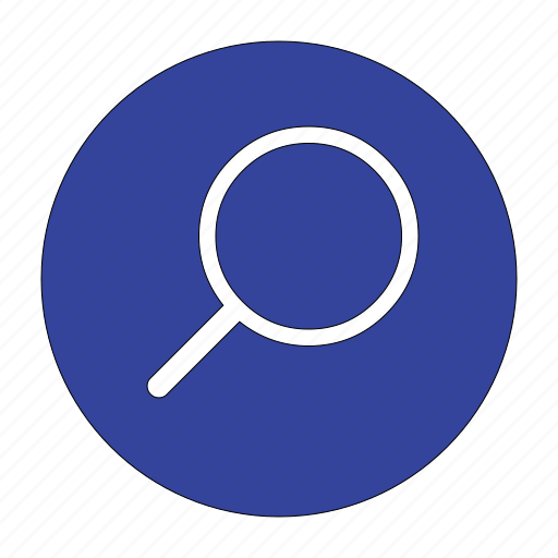 find, found, glass, magnifier, magnifying, search, zoom icon