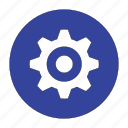 configuration, control, gear, options, preferences, service, setting icon
