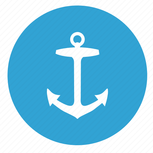 anchor, boat, salor, ship icon