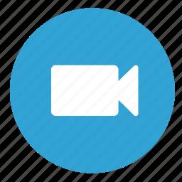 cam, camera, film, record, video icon