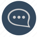 comment, dialog, speach, text icon