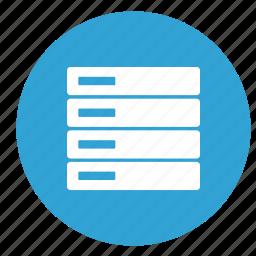 data, database, hardware, info icon