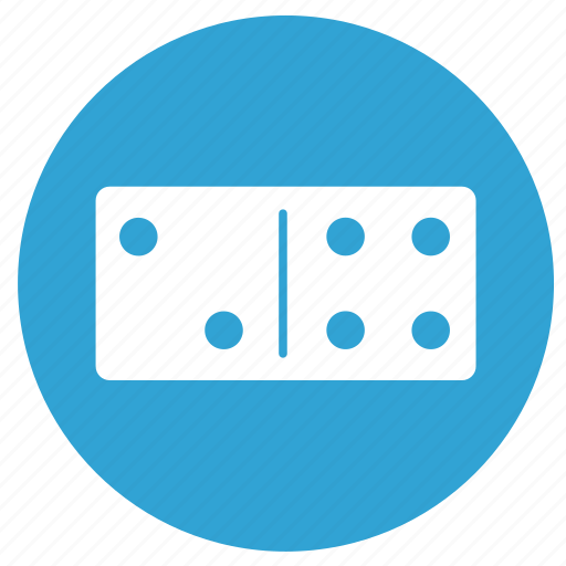 collective, domino, game, play icon