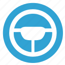 auto, car, driver, wheel icon