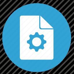 configurate, file, options, settings icon