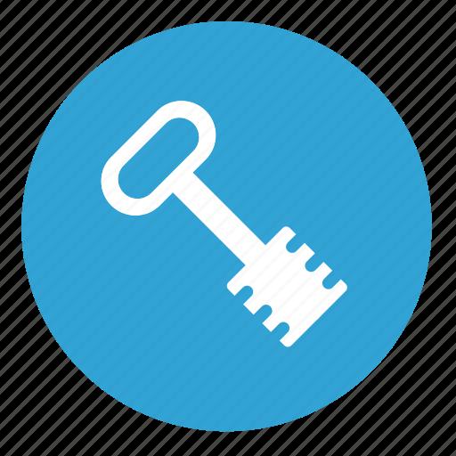 access, door, enter, key icon