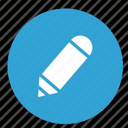 message, pen, pencil, text, write icon