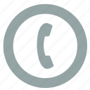 call, connect, dial, phone, smartphone icon