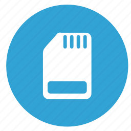 card, phone, settings, sim icon
