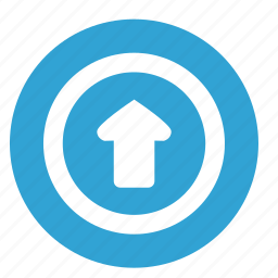 arrow, motion, navigation, top, up icon