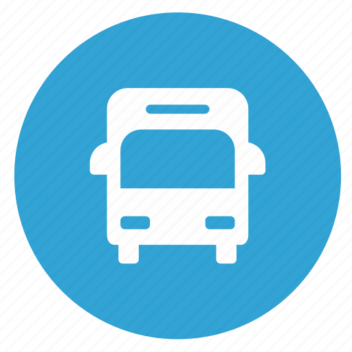 bus, school, sign, transport icon