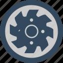 blade, circular, mashine, round icon